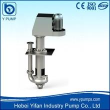 Hebei manufacture belt driven flow meter centrifugal waste water pump