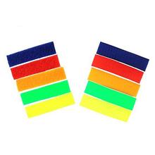 gancho de cinta de soporte de bucle suave con forro adhesivo