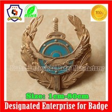 custom metal ornamental badge (HH-badge-741)