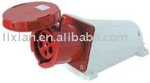Ip67 IP55 grupo industrial montaje 135/145 63 / 125A zócalo impermeable