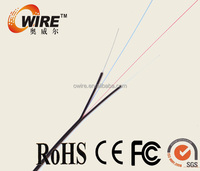 4 core cable G652D optical fiber glass optic fiber cable price