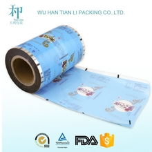 High barrier sachet packaging plastic film roll for cake bread snack