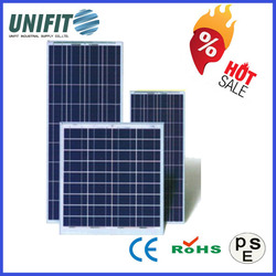 250W Poly 156*156 Solar Panel Install Cost With Panel Solar Battery