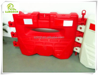 Wholesale traffic safety HDPE plastic road safety barrier