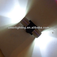 High power 2W led wall mounted decorative lighting blue color