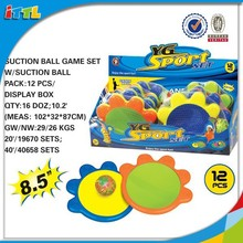 High Quality Newest Design flower type suction ball,catch ball,sticky ball