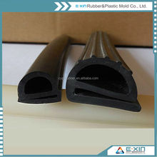self adhesive safe and environmental sponge rubber automatic door bottom seal for sliding door