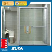 complete glass shower room sliding shower screen for bath tub