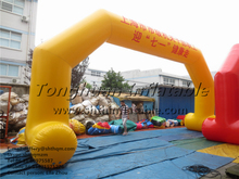 inflatable air tight arch inflatable event arch