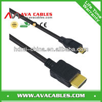 MINI HDMI Cable to HDMI CABLE Gold-plated