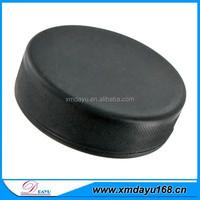 bulk wholesale rubber hockey popular in north America / custom ice puck