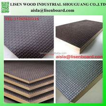 Wiremesh Plywood Black Film Faced WBP, Pine Core Brown film Marine Plywood