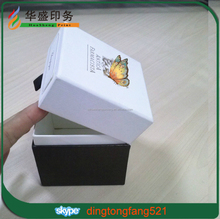 High-end real factory popular custom logo print gift packaging box candle gift box