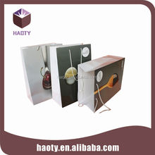 Fashion new gift packing brown paper bags