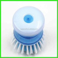 Small Plastic Dish Washing Cleaning Brush soap dispensing glass and dish brush