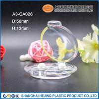 High quality transparent compact powder abs case