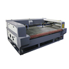 80w auto feed fabric laser cutting machine, 1600*1000mm with double heads