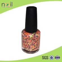 factory outlet nail polish 15ml glitter peel off nail polish