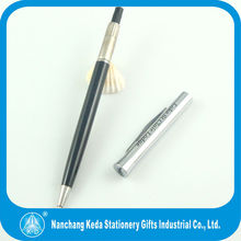 new style best seller smoothy writing hotel metal twist open ballpoint pen