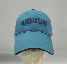 customized 6 panel embroidery metal buckle pigment dyed cotton baseball cap
