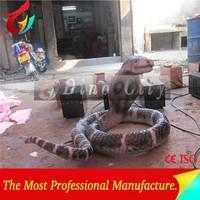 Amusement Park Life Size Animatronic Snake Model