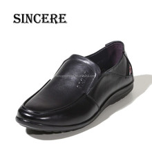 2015 China Factory Customer Logo Genuine Leather Official Formal Loafer Shoes