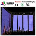 popular flexible p12 led deinterior pantalla