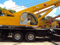 Used kato truck crane 50ton NK500E, use truck crane 50ton, old/half new kato crane 50ton for sale!