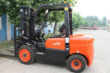 CPCD35FR Diesel Powered Forklift Truck/forklift clamp attachments/truck forklift