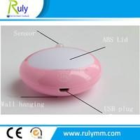 Human body induction lamp ,night light with sensor USB led light