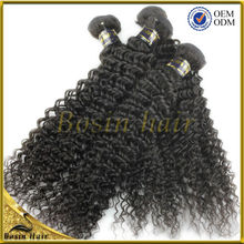 Factory with high competitve price virgin afro kinky human hair