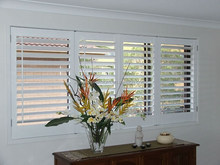 Easy to install Phoenix Wood Plantation Shutters/Timber Shutters/Window Shutters