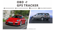 Fast Position Anti-Thief OBD Auto Tracker VT100 For fire engine by Thinkrace OBD2 vehicle gps tracker