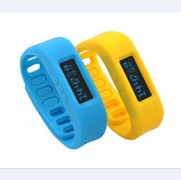 Bluetooth smart wristband with Pedometer measure; smart watch for android cell phone accessories--Bluetooth wrist bracelet step