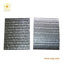 Optional reinforcing net reflective insulation