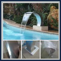 Spa massage waterfall swimming pool SEG0974