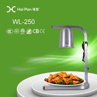 Table top electric lamp 500w household chafing dish \food warmer \chafing dish