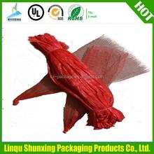 Wholesale drawstring mesh bag onion mesh bag