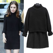 Hollow Out Woman Sweater ,Long Sleeve O-neck Pullover , New Style Loose Pullover