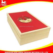 wooden godiva chocolate box