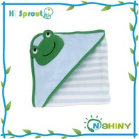 Hot Sale Stripe Frog Animal Baby Face Towel