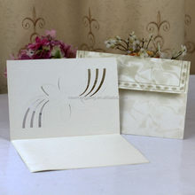 Top quality factory direct wedding invitation card craft