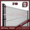 Football Field Pvc Coated Or Galvanized Chain Link Fencing