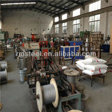 1.4401 SUS 316 Stainless Steel Wire Rope Factory Manufacturer with top quality and competitive price