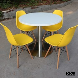 round dining table set , 4 person dining table and chair