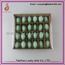 Taizhou lucky arts Real raw colour goose eggshell/ostrich eggshell