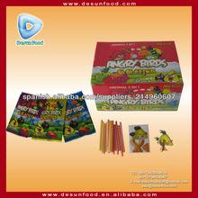 Mezcla de frutas CC candy stick con rompecabezas