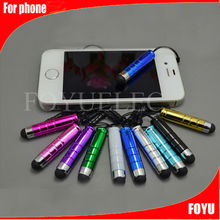 Touch screen stylus Pen with ball pen for smart phone with Earphone Plug touch screen stylus pen
