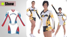 2015 New design customize sexy cheerleading uniforms