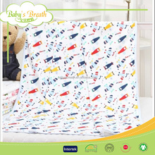 BBS127 babies woven 80% cotton 20% polyester terry cloth fitted sheet, fitted bed sheet